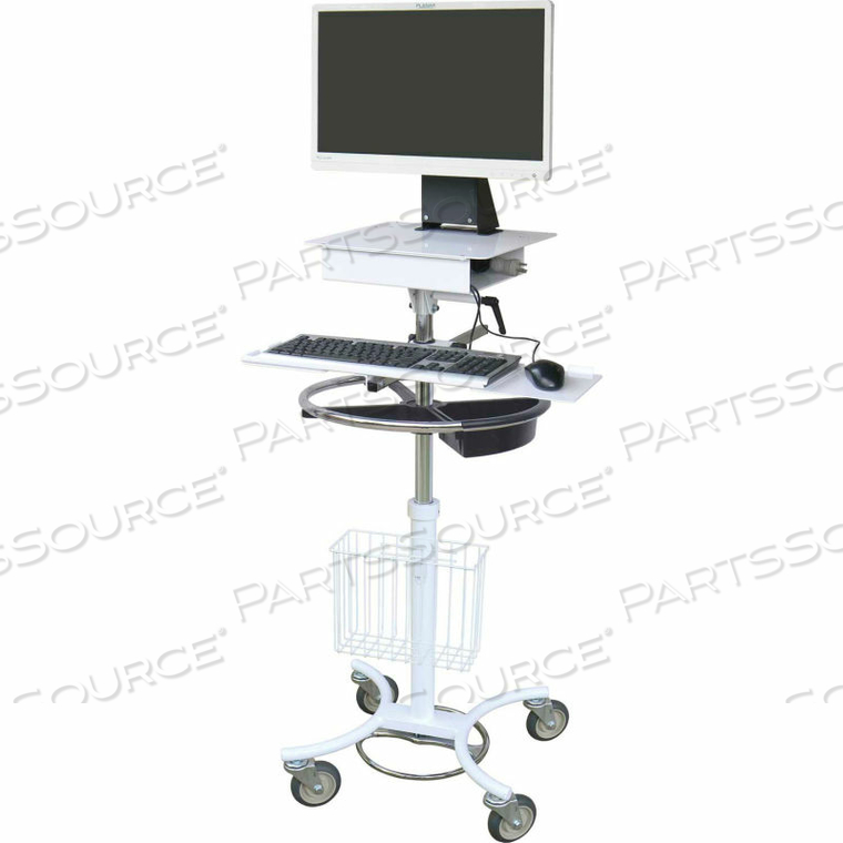 ALL-IN-ONE MOBILE COMPUTER CART by Omnimed, Inc.