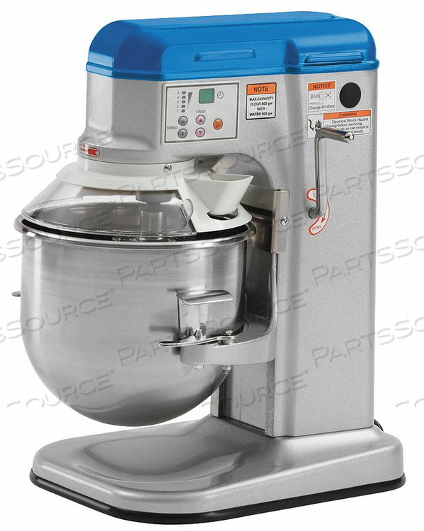 ELECTRIC FOOD MIXER WITH GUARD 10 QUART by Vollrath