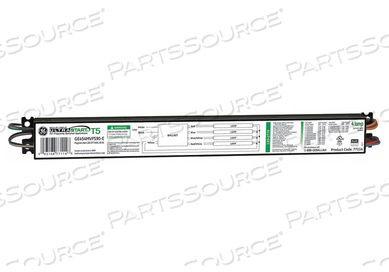 ELECTRONIC BALLAST T5 LAMPS 347/480V by GE Lighting