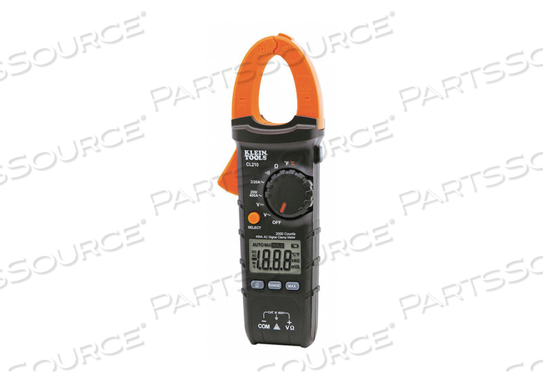 CLAMP METER DIGITAL CLAMP ON 2000 COUNTS by Klein Tools