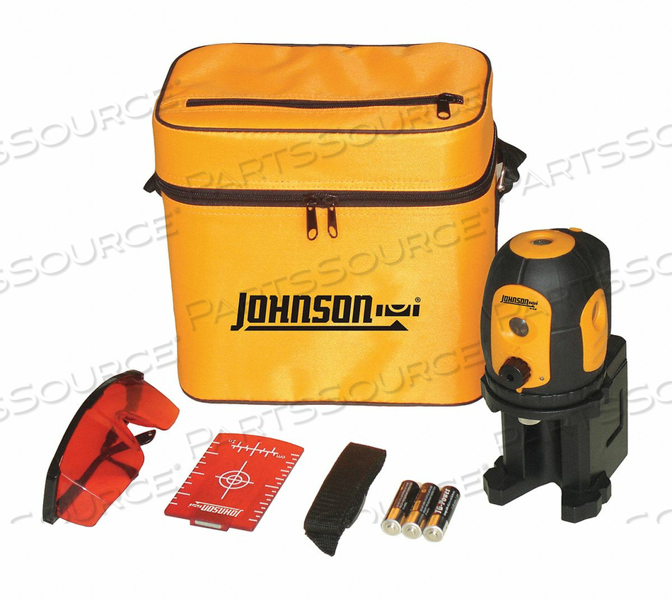 DOT LASER LEVEL INT/EXT RED 200 FT. by Johnson Level