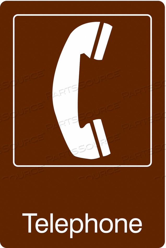 FACILITY SIGN 6 W 9 H 0.135 THICKNESS by Condor