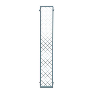 EZ WIRE MESH PARTITION PANEL, 1'W X 10'H by Husky Rack & Wire