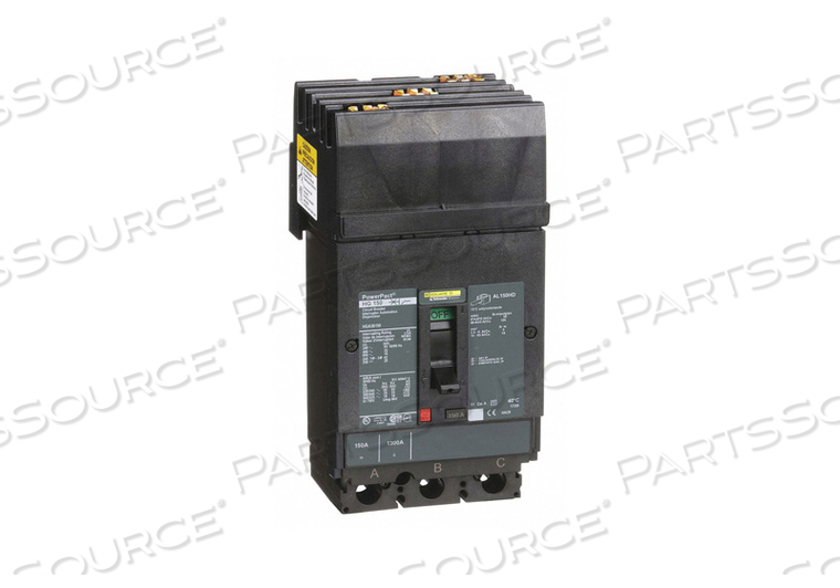 CIRCUIT BREAKER 150A 3P 600VAC HG by Square D