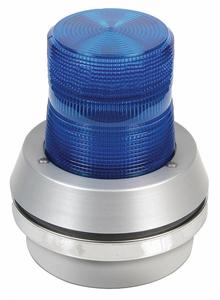 HORN STROBE BLUE CAST ALUMINUM 120VAC by Edwards Signaling