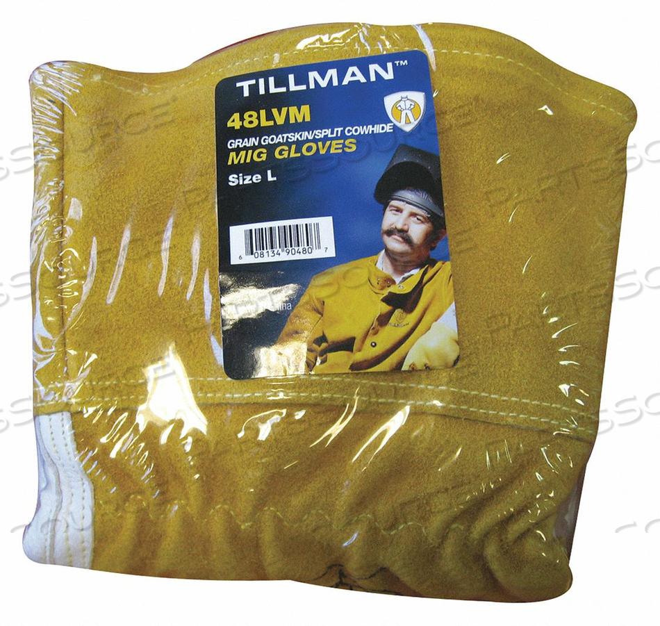 WELDING GLOVES GOATSKIN 14 L SIZE XL PR by Tillman