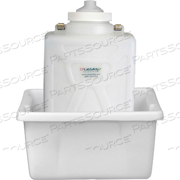 PORT CAP SYSTEM, 9L CARBOY, 100MM 10-PORT CAP, SECONDARY CONTAINER by CP Lab Safety