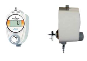 DIGITAL VACUUM REGULATOR, TUBING NIPPLE X MALE, 0 TO 760 MMHG by Amvex (Ohio Medical, LLC)