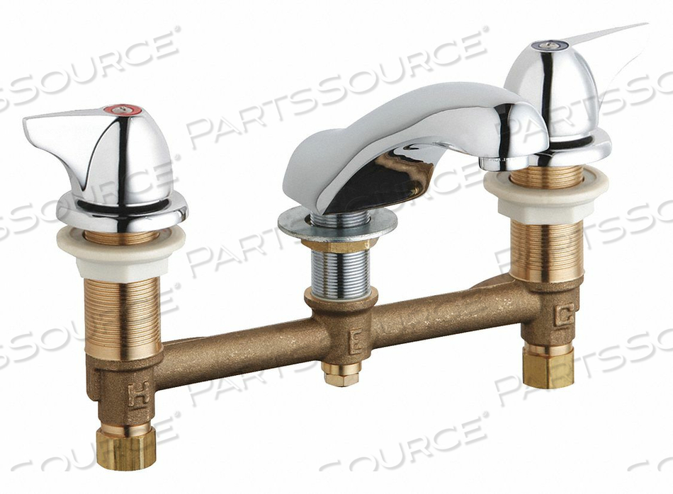 CONCEALED HOT AND COLD WATER SINK FAUCET by Chicago Faucets