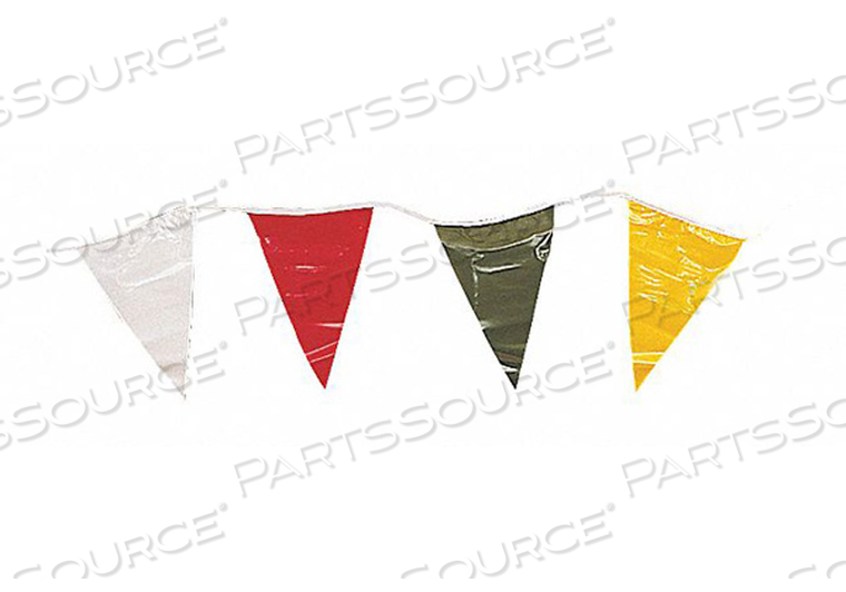 PENNANT STRING MULTICOLOR 100 FT. by Annin Flagmakers