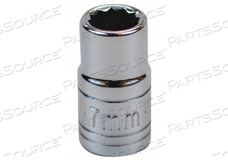 SOCKET 1/4 IN DR 7MM 12 PT. by SK Professional Tools