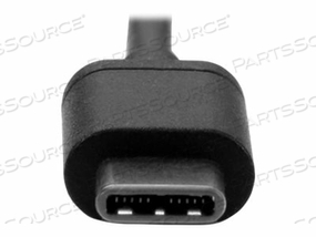 STARTECH.COM 2M (6FT) USB C CABLE M/M - USB 2.0 - USB TYPE C CABLE - USB CABLE - USB-C (M) TO USB-C (M) - THUNDERBOLT 3 / USB 2.0 - 6.6 FT - BLACK by StarTech.com Ltd.