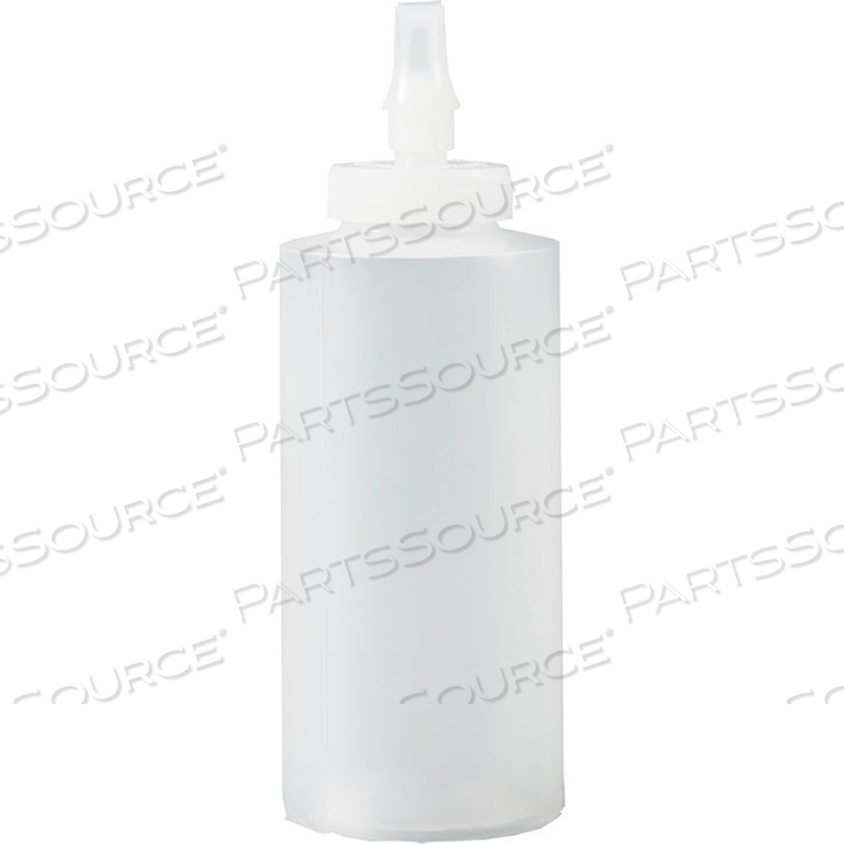 CYLINDER BOTTLE WITH RIBBON APPLICATOR TIP, HDPE, 12 OZ. by Tolco
