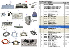 USB KEYBOARD by Siemens Medical Solutions