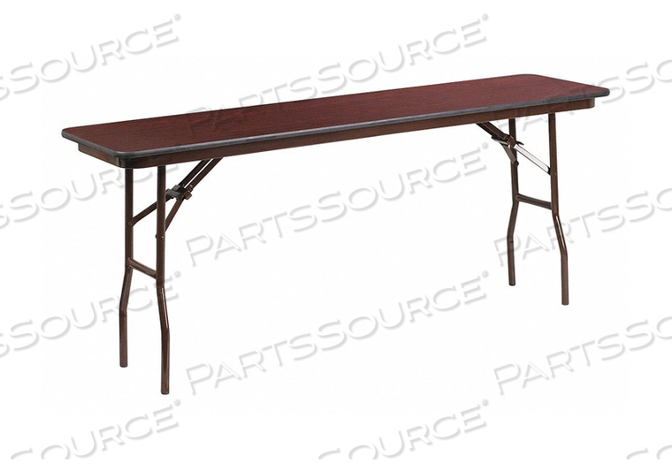 TRAINING TABLE RECTANGULAR 18 W 72 D by Flash Furniture