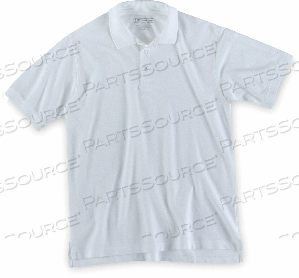SHORT SLEEVE UTILITY POLO L WHITE by 5.11 Tactical