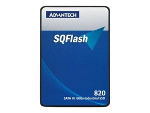 """ADVANTECH SQFLASH SQF-S25 820 - SOLID STATE DRIVE - 256 GB - INTERNAL - 2.5"""" - SATA 6GB/S by Advantech USA"""
