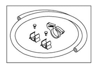 """13"""" DRAIN HOSE KIT by Replacement Parts Industries (RPI)"""