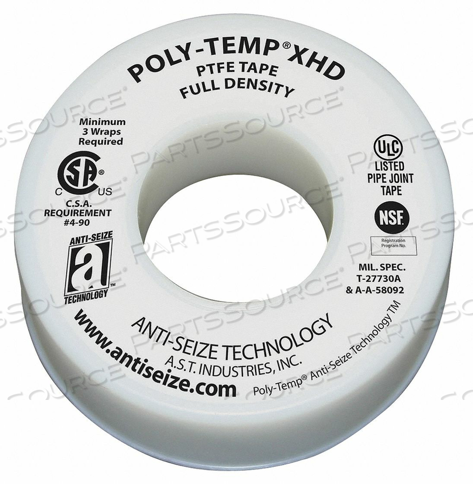 SEALANT TAPE 1-1/2 IN W 520 IN L by Anti-Seize Technology