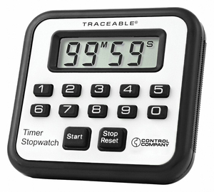 ALARM TIMER/STOPWATCH ACCURACY 0.01 PCT by Traceable
