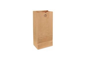 GROCERY BAG BRN 18 L 8-1/4 W PK400 by Duro
