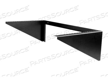 """STARTECH.COM VERTICAL WALL-MOUNT SERVER RACK - LOW-PROFILE STEEL BRACKET - 6U - WALL MOUNT BRACKET - BLACK - 6U - 19"""" by StarTech.com Ltd."""
