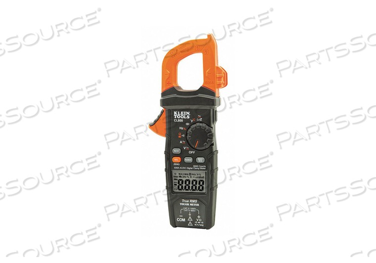 CLAMP METER DIGITAL LCD 6000UF TRMS by Klein Tools