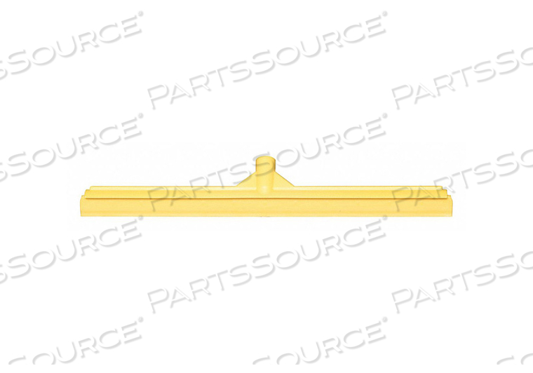 J4746 FLOOR SQUEEGEE STRAIGHT YELLW 23-39/64 W by Tough Guy