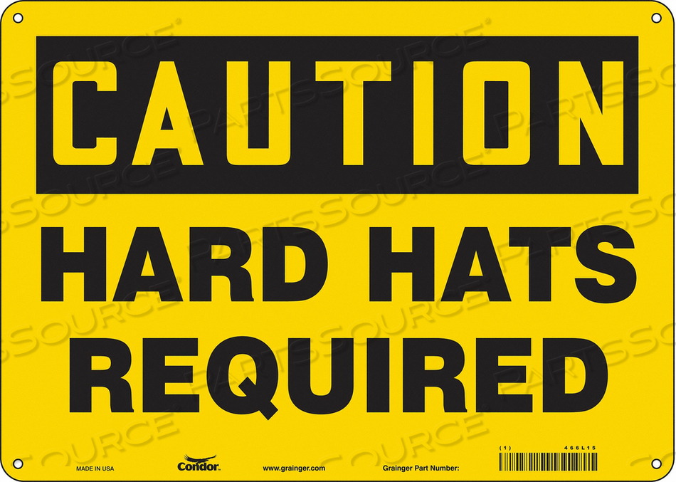 K0377 SAFETY SIGN PERSONAL PROTECTION 10 H by Condor