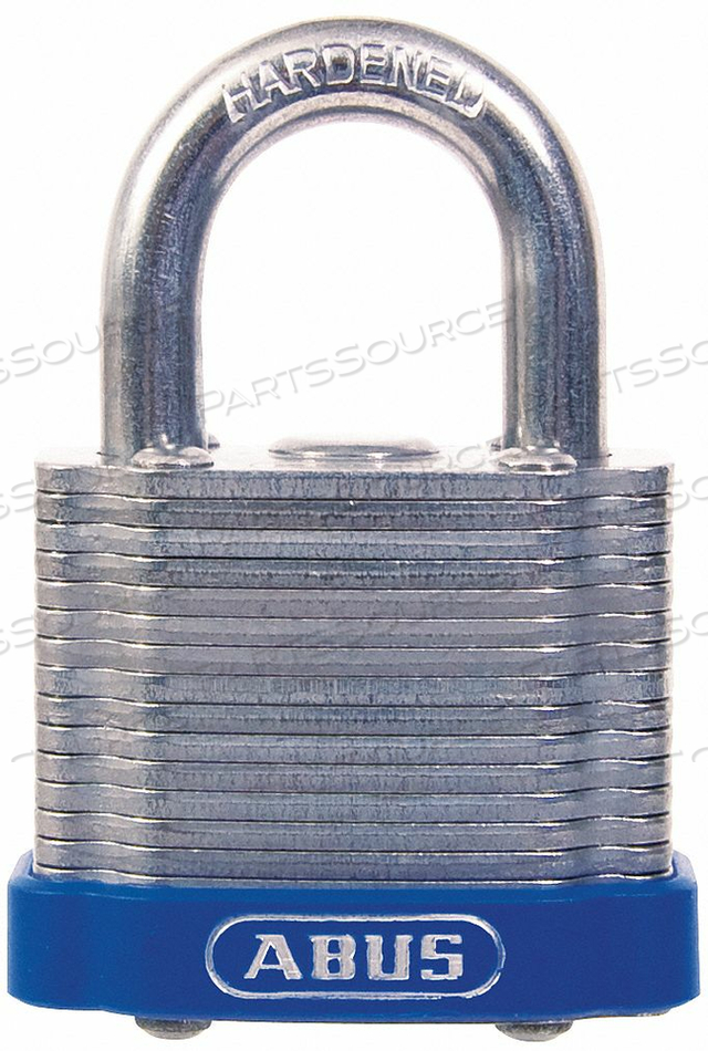 KEYED PADLOCK DIFFERENT 1-1/2 W by Abus