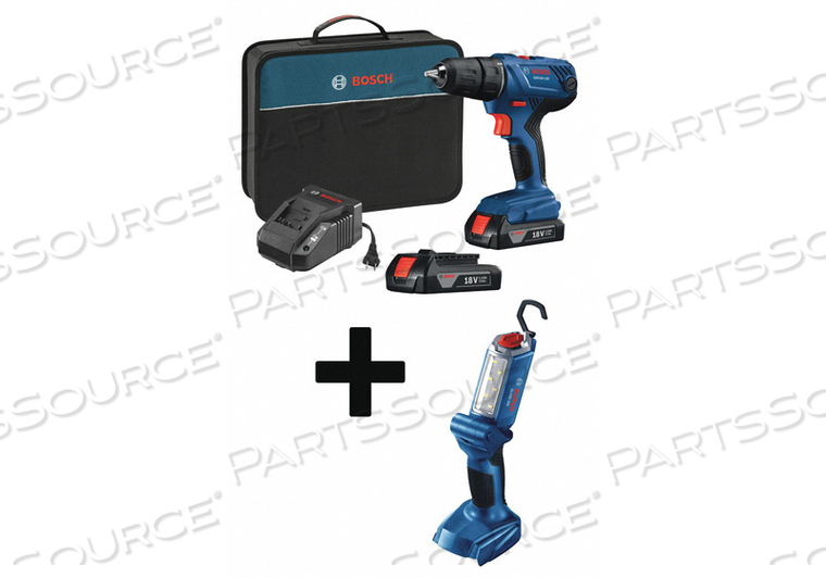 CORDLESS DRILL/DRIVER KIT 2.7 LB. by Bosch Tools