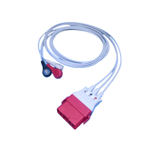 ONESTEP 3 LEAD ECG CABLE by ZOLL Medical Corporation