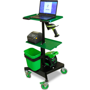 LT SERIES MOBILE POWERED LAPTOP CART WITH 1 SWAPPABLE BATTERY PACK by New Castle Systems