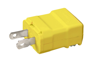 2 PRONG HUBBELL PLUG by Hubbell Power Systems