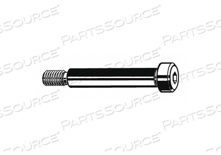 SHOULDER SCREW M6 THREAD SIZE PK1000 by Fabory
