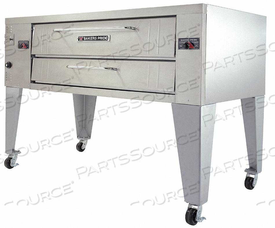 GAS DECK OVEN SINGLE W 84 by Bakers Pride