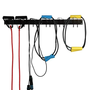 RACK, TUBING AND ROPE, 6 HOOKS, WALL MOUNT by Ideal Products