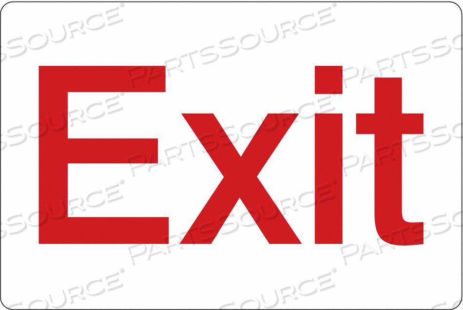 SIGN EXIT 6 X9 by Condor