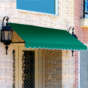 """WINDOW/ENTRY AWNING 6' 4-1/2""""W X 3'D X 3' 8""""H NAVY by Awntech"""