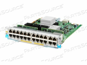 HPE - EXPANSION MODULE - GIGABIT ETHERNET (POE+) X 20 + 1/2.5/5/10GBASE-T (POE+) X 4 - REMARKETED by HP (Hewlett-Packard)