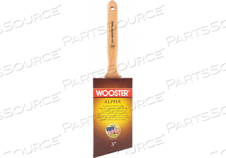 PAINT BRUSH ANGLE SASH 3 by Wooster