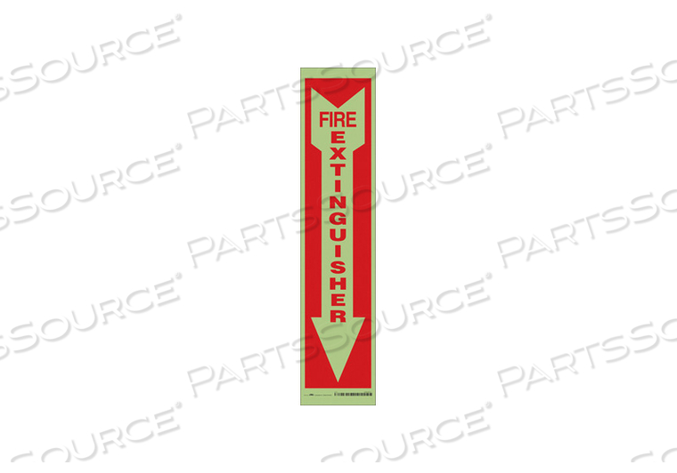 J7050 SAFETY SIGN 4 W 18 H 0.024 THICK PK6 by Condor