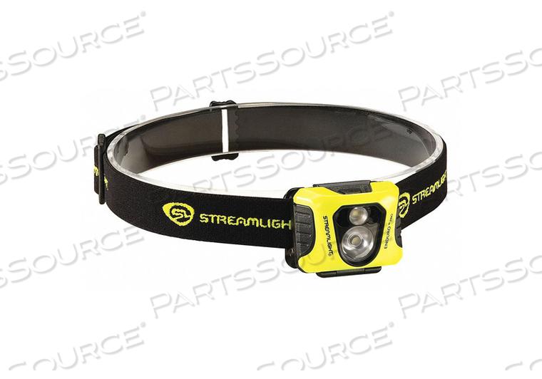 HEADLAMP 200/75/25 LM YELLOW BODY LED by Streamlight
