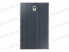 SAMSUNG BOOK COVER EF-BT700WBEGUJ - FLIP COVER FOR TABLET - CHARCOAL BLACK - FOR GALAXY TAB S (8.4 IN)
