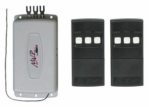 RADIO CONTROL SET 1 CHANNEL 2 DOORS by American Garage Door Supply