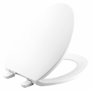 TOILET SEAT ELONGATED BOWL CLOSED FRONT by Kohler
