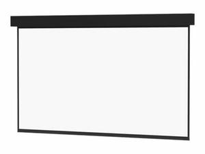 DA-LITE PROFESSIONAL ELECTROL HDTV FORMAT - PROJECTION SCREEN - CEILING MOUNTABLE, WALL MOUNTABLE - MOTORIZED - 220 V - 216 IN (216.1 IN) - 16:9 - MATTE WHITE - BLACK by DA-Lite