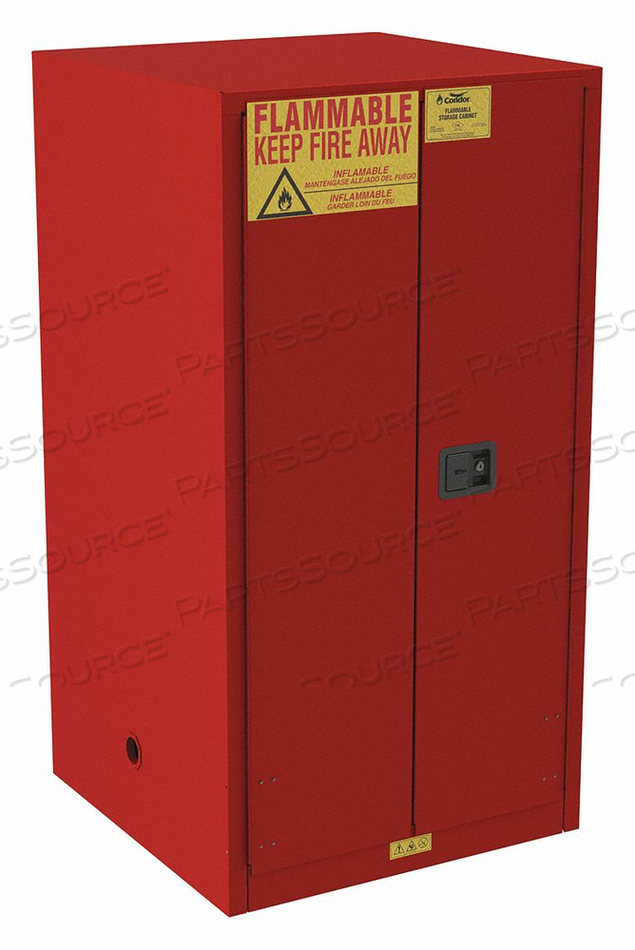 FLAMMABLE CABINET STANDARD 60 GAL. 65 H by Condor