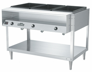 FOOD TABLE HOT 3 FULL PANS H 46 1/2 by Vollrath