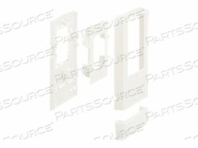 PANDUIT MINI-COM ULTIMATE ID - SURFACE MOUNT BOX - OFF WHITE - 6 PORTS
